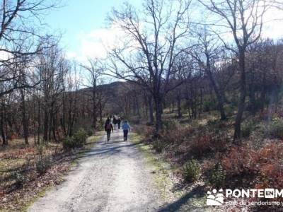 Senderismo Sierra Norte Madrid - Belén Viviente de Buitrago; rutas catalunya senderismo
